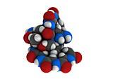 Afamelanotide drug molecule