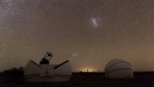 Astrotourism in the Atacama Desert, time-lapse footage