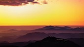 Sunset at CTIO observatory site, time-lapse footage