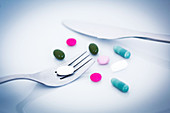 Slimming pills or dietary supplements