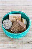 Assorted soaps