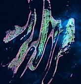 Belcher Islands, satellite image