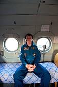 Tim Peake astronaut recovery, June 2016