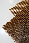 Honeycomb panel cores.