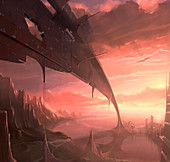 Alien civilisation, illustration
