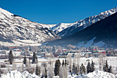 Silverton, Colorado, USA in winter