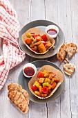 Barbecue-Grillgemüse für Vegetarier