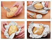 Ofenkartoffel zubereiten