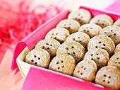 Brown sugar buttons