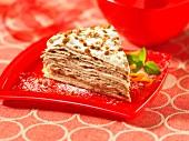 Toffee crunch cake