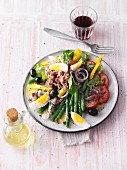 Salade niçoise with tuna (Sirtfood)