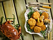 Crab and Seaweed Fishcakes