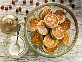 Hazelnut and Treacel Welshcakes