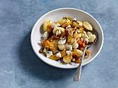 Autumnal pumpkin gnocchi with ricotta