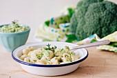 Orecchietta pasta with broccoli pesto sauce, Italy