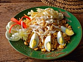 Chicken goreng, Lombok island, Indonesia