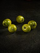 Five green grape tomatoes
