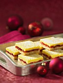 Strawberry lemon slices Christmas