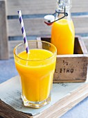 Freshly squeezed oange juice