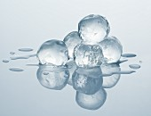 Ice cube balls