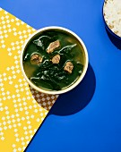 Miyeok guk (algae soup, Korea)