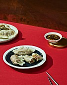 Gogi mandu (meat-filled ravioli, Korea)
