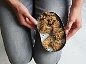 Gewürz-Cracker aus Samen und Kernen