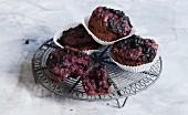 Blueberry and yoghurt muffins (sugar-free)