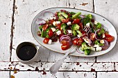 Italian broccoli salad