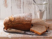 Quick and easy spelt bread