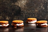 S'mores with marshmallow