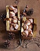 Biberle (Swiss marzipan cookies)