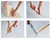 How to fill a piping bag