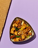 Eomuk bokkeum - fried fishcake (Korea)