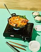 Haemul jeongol - Korean seafood hotpot