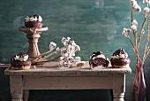 Vegan Danube cupcakes