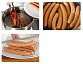 How to poach sausages