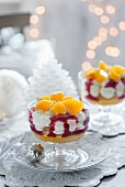 Clementine trifles (Christmas)