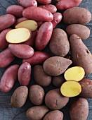Kartoffeln mit roter Schale