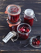 Sweet and sour sloe compote