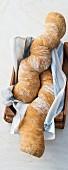 Barley bread, shaped