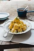Polenta dumplings
