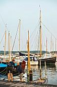 The yacht harbour in Svendborg on the island of Funen, Denmark