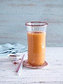 A pepper, tomato, and fennel smoothie - 'Hot Summer'