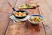 Radieschen-Linsen-Salat mit Kratzete
