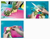How to make a pineapple parrot