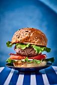 Traditional hamburger