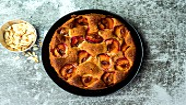 Pflaumen-Mandel-Kuchen zubereiten