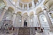 Baptisterium in Pisa, Toskana, Italien