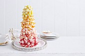 Australian Sunset Meringue Tower